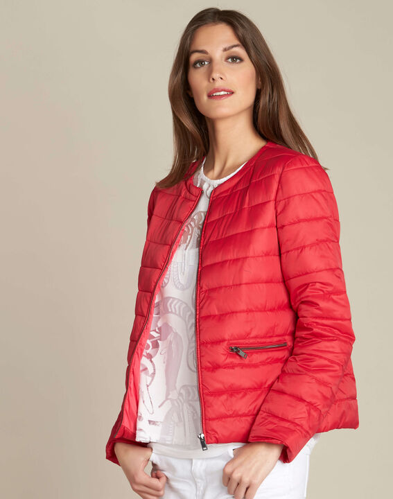 Yvana fine red quilted jacket (3) - 1-2-3