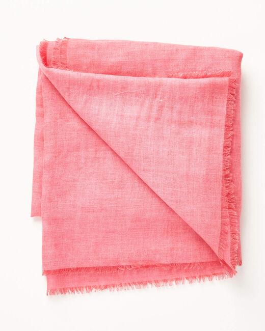 Einfarbiges fuchsienrotes Halstuch Aris (2) - 1-2-3