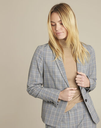 Harry prince of wales check jacket mid chine.