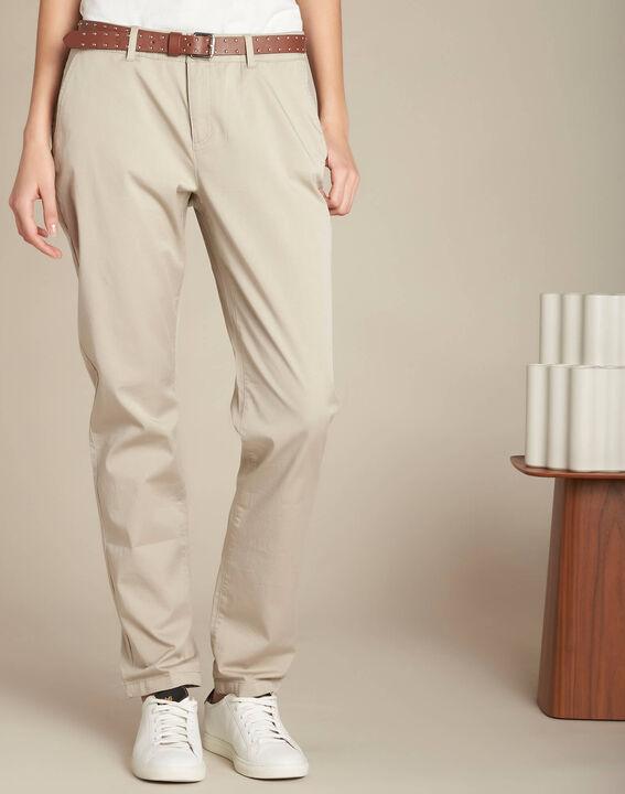 Francis slim-cut cotton trousers (3) - 1-2-3
