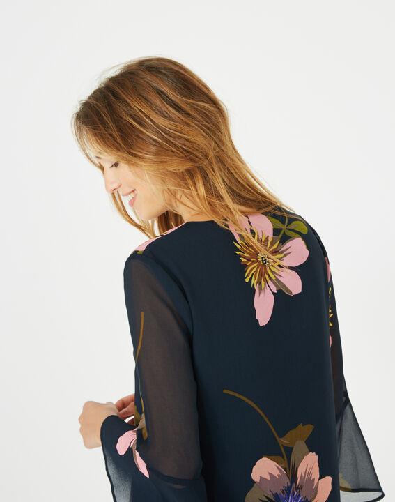 Robe imprimée fleurs Astrid (4) - 1-2-3