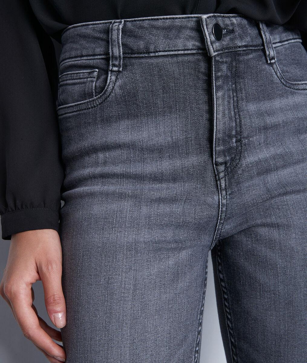 Jean droit en coton bio gris foncé Sonia PhotoZ | 1-2-3