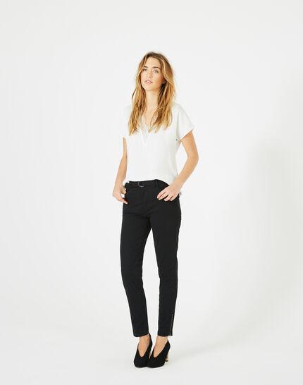 Kloe black 7/8 length trousers (2) - 1-2-3