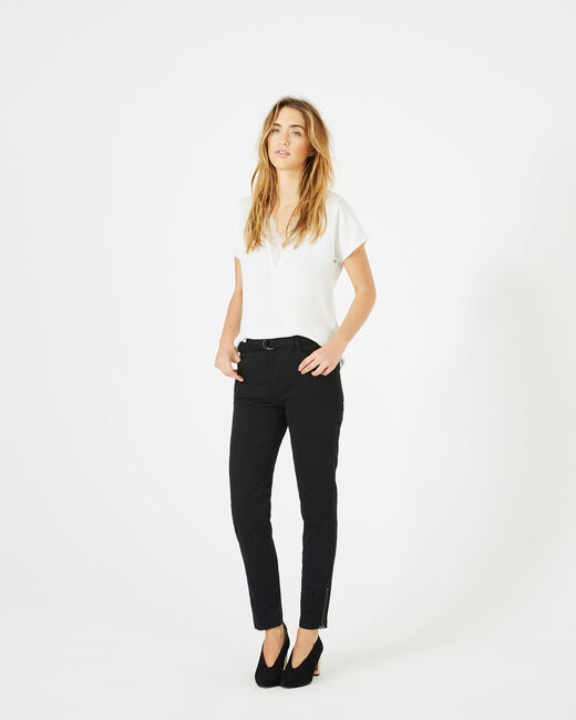 Pantalon noir 7/8ème Kloe (2) - 1-2-3