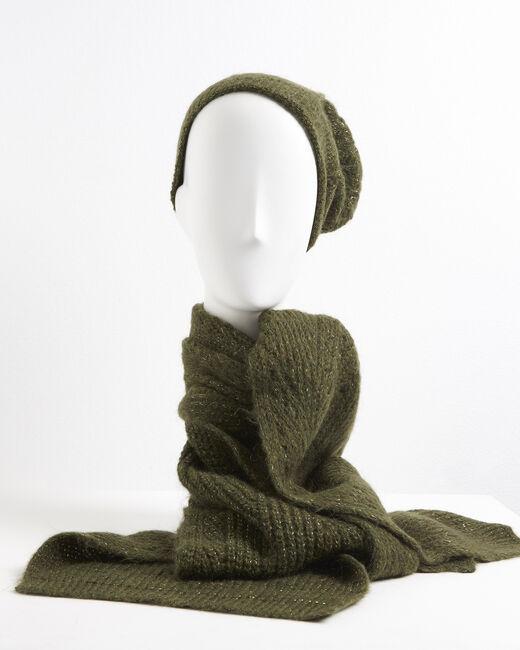 Bonnet kaki bordé en relief Ursula (2) - 1-2-3