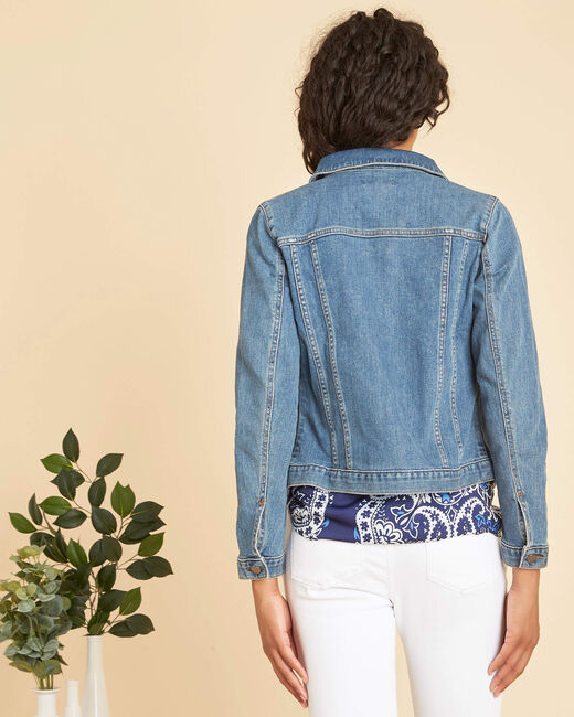 Candie zippered denim jacket (2) - 1-2-3