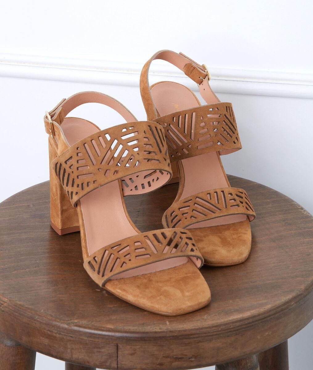 Sandales en cuir à talons Gaia PhotoZ | 1-2-3