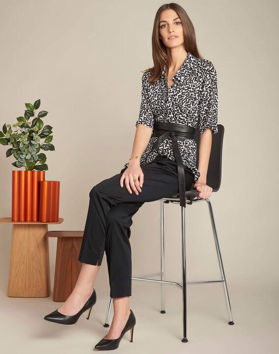 Rubis black 7/8 length trousers (2) - 1-2-3