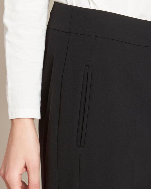 Pantalon noir droit Vasco (2) - 1-2-3