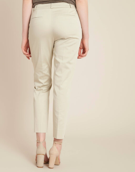 Rubis beige 7/8 length trousers (4) - 1-2-3