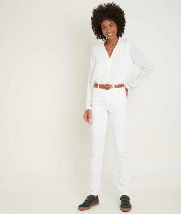 L'iconique slim blanc Suzy PhotoZ | 1-2-3