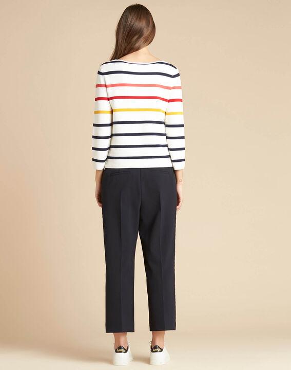 Nacadamia white striped ottoman sweater (4) - 1-2-3