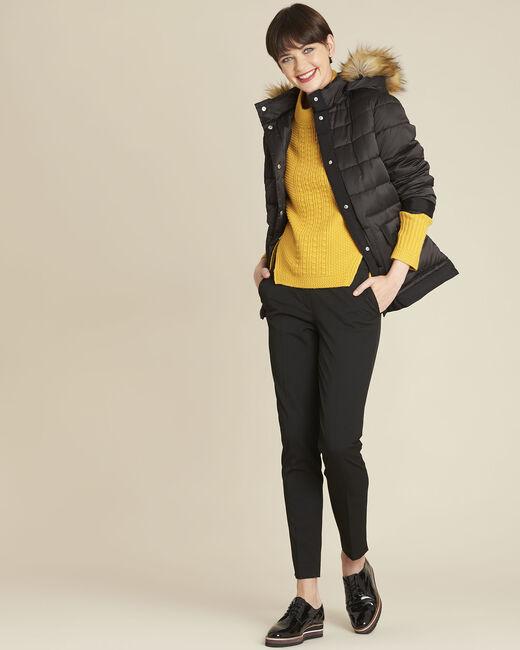 Helsy black cigarette-cut trousers (1) - 1-2-3
