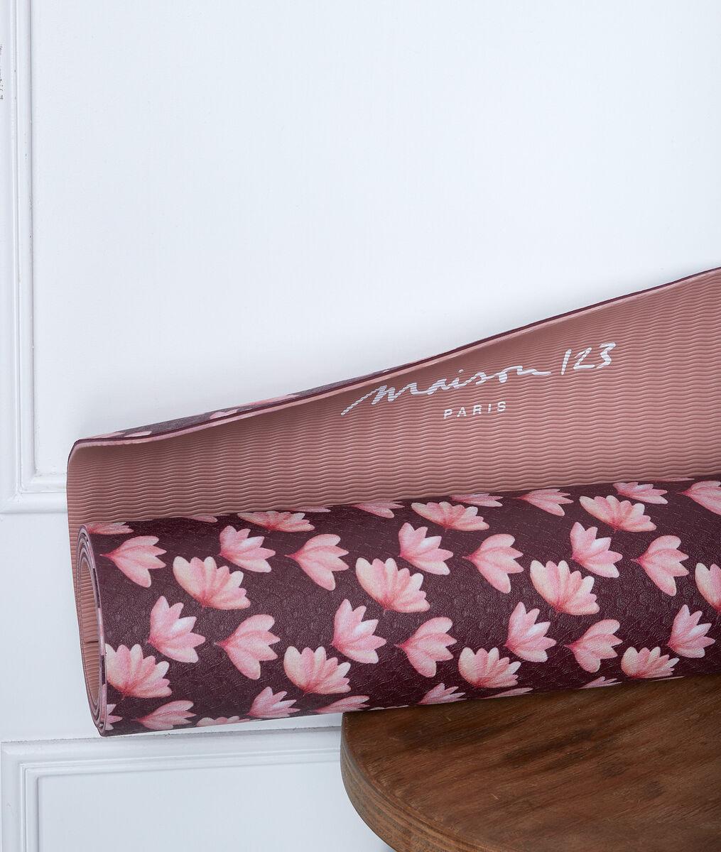 Tapis de yoga imprimé lotus PhotoZ | 1-2-3