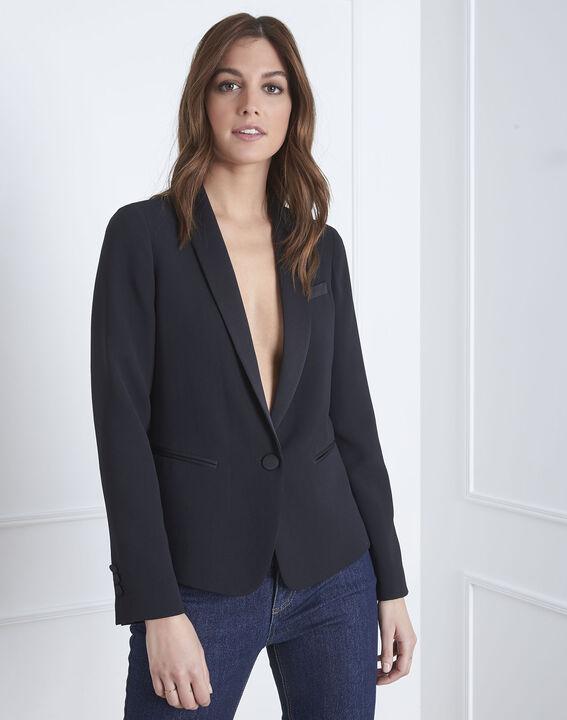 Veste noire tailleur Sabrina (2) - Maison 123