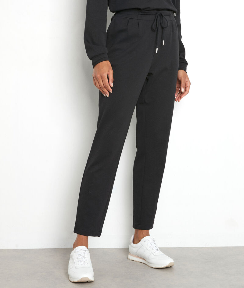 Pantalon de jogging en jersey noir Islande PhotoZ   1-2-3