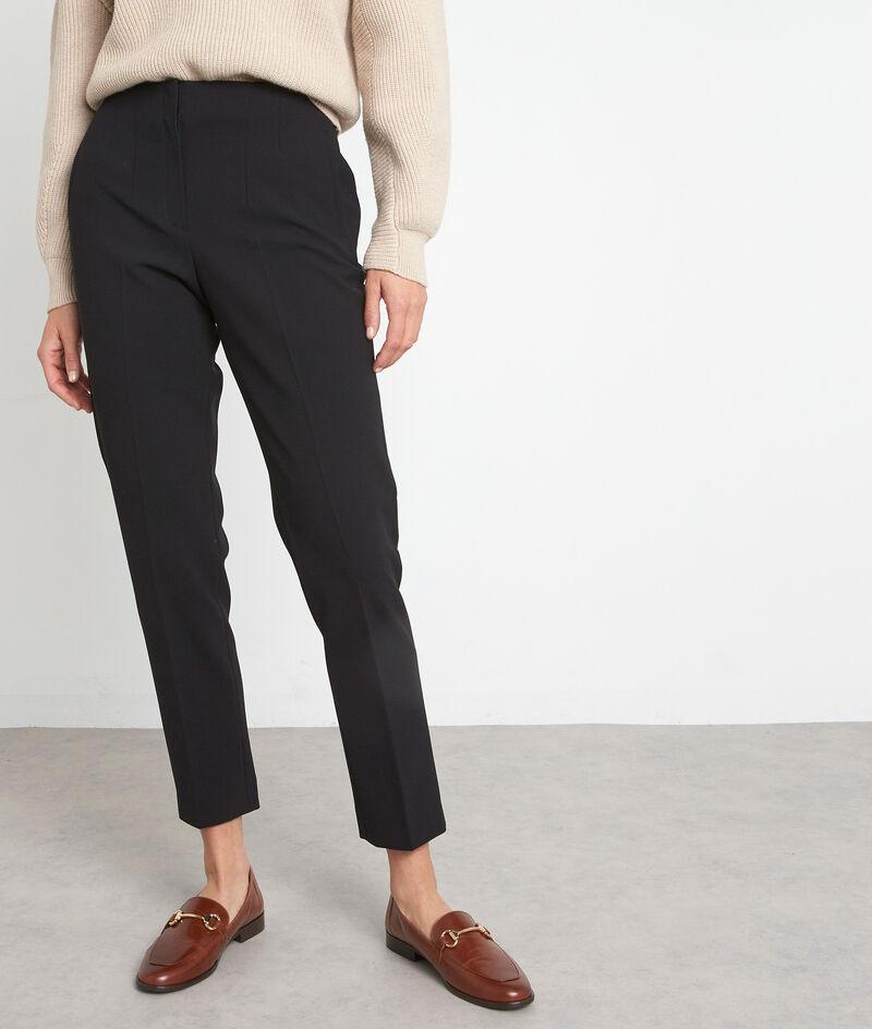 Pantalon de tailleur ajusté noir Dixon PhotoZ   1-2-3