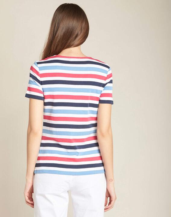 Tee-shirt marine rayé Embruns (4) - 1-2-3