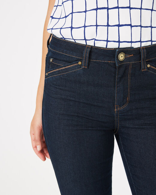 Pia raw-cut 7/8 length jeans (2) - 1-2-3