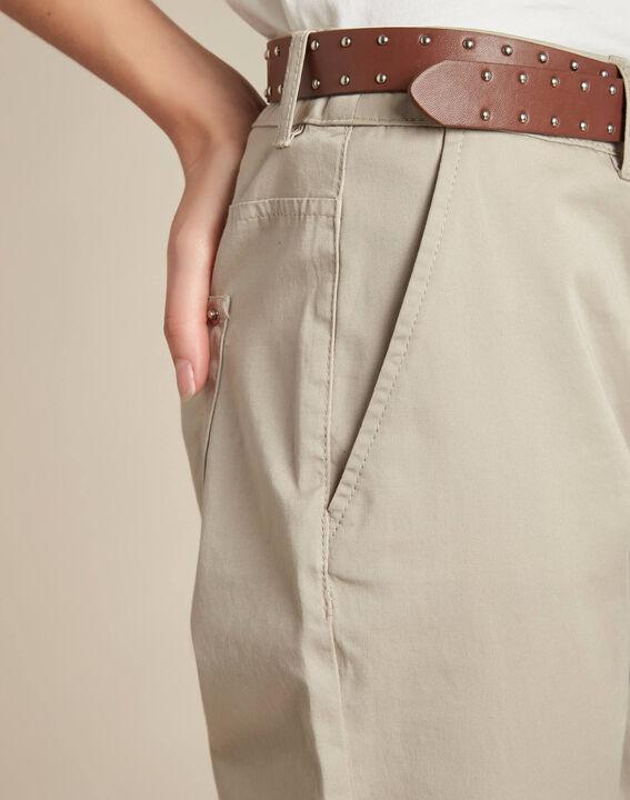 Francis slim-cut cotton trousers PhotoZ | 1-2-3