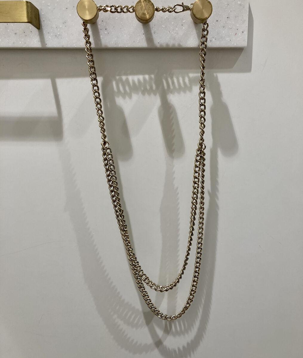 Ceinture chaînette dorée Elie PhotoZ | 1-2-3