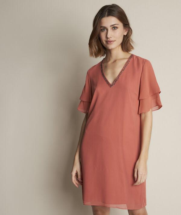 Robe rose en soie Astrid PhotoZ | 1-2-3