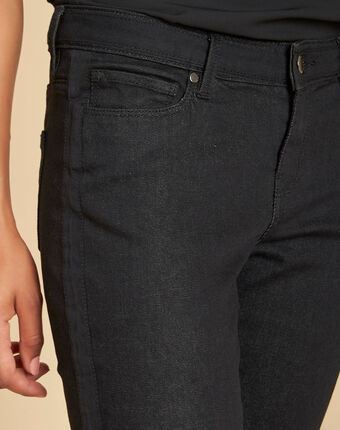Turenne 7/8 length black slim-cut jeans black.