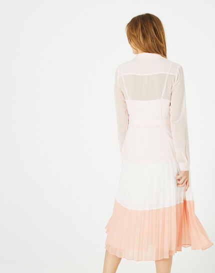 Armelle long pleated dress (3) - 1-2-3