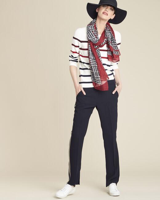 Foulard rouge et noir Fantastique (2) - 1-2-3