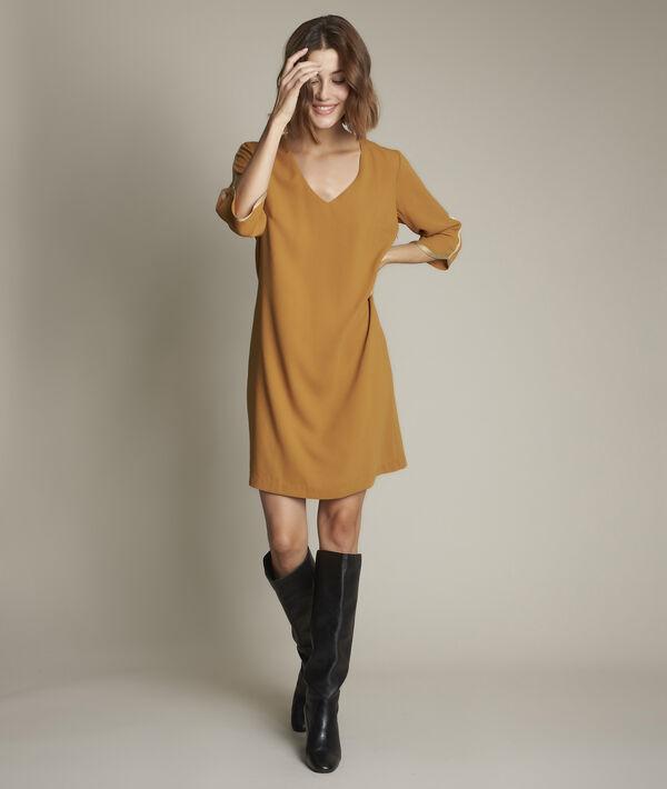 Robe jaune Clémentine PhotoZ | 1-2-3