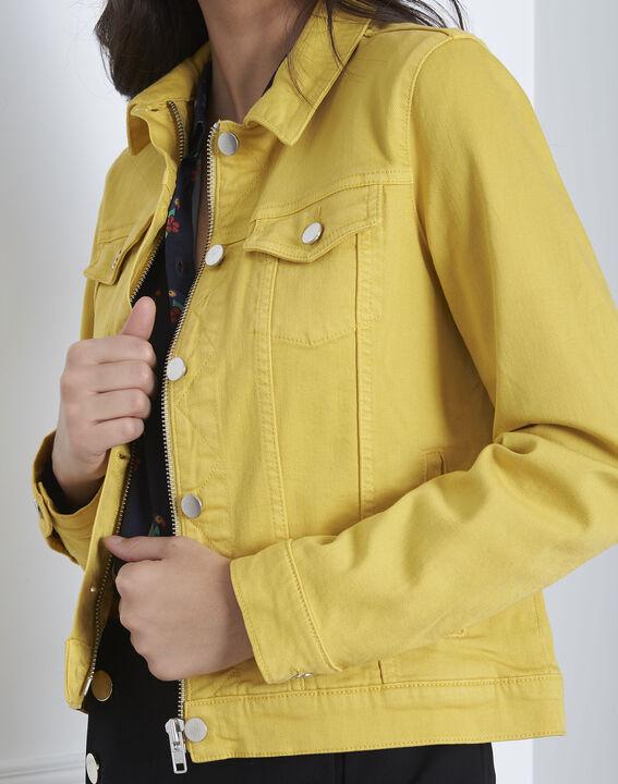 Veste jaune en jean Clem (4) - Maison 123