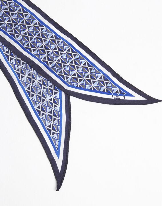 Cravate ceinture en soie imprimée Flavian (2) - 1-2-3