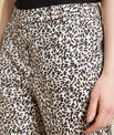 Rubis camel printed trousers PhotoZ | 1-2-3