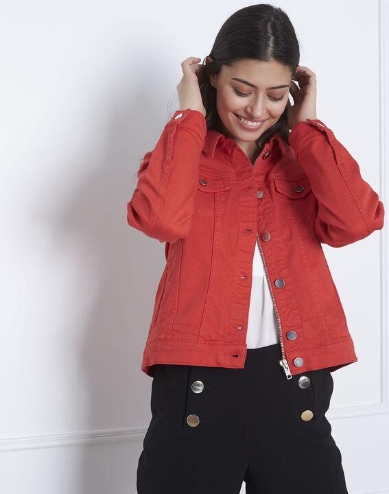 Rote Jeansjacke Clem (2) - Maison 123