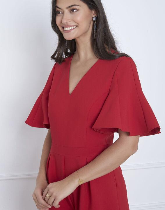 Combinaison rouge cropped Havana (3) - Maison 123