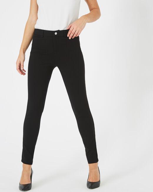 Kali black slim-cut trousers (1) - 1-2-3