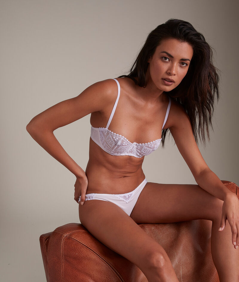 Culotte en broderie de coton française blanche Lisa PhotoZ | 1-2-3