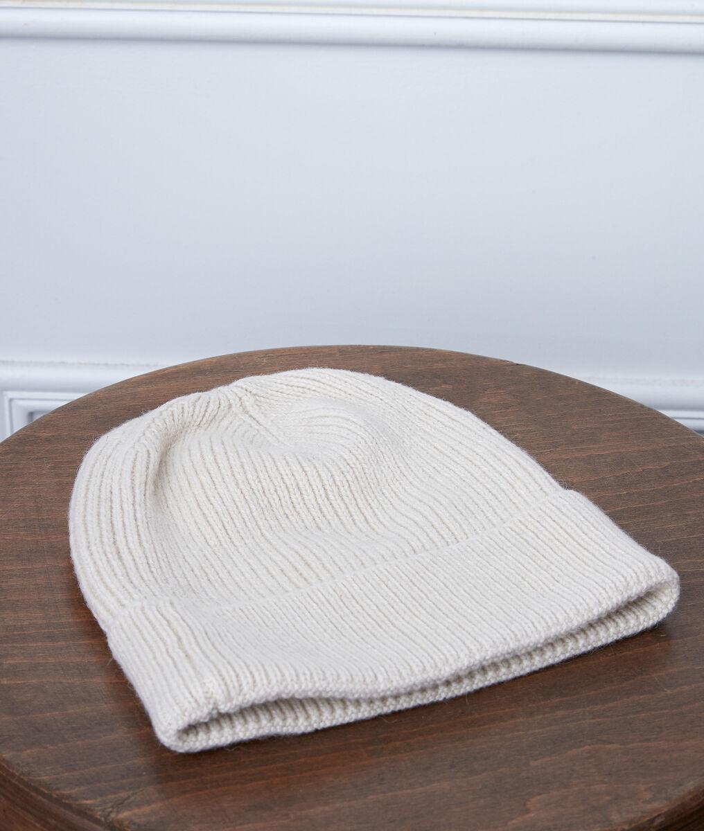 Bonnet en alpaga et laine recyclée zelma