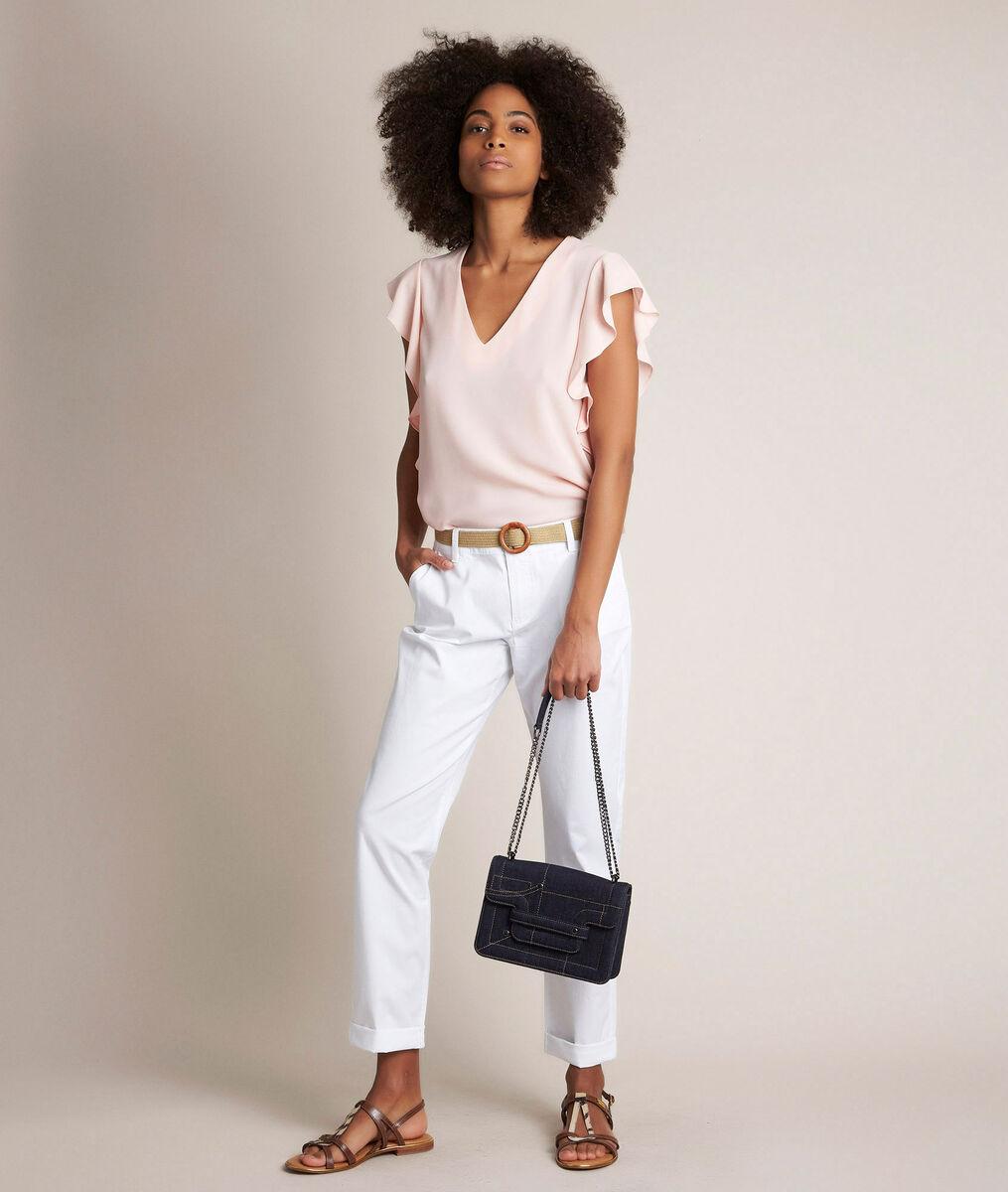 Pantalon chino blanc Francis PhotoZ   1-2-3