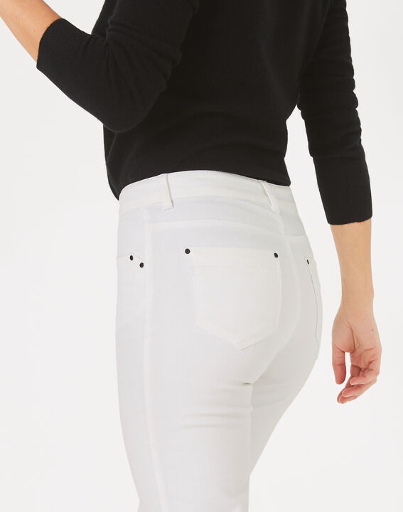 Pantalon 7/8ème blanc Oliver (4) - 1-2-3