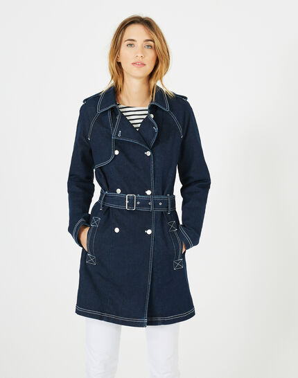 Trench en denim brut Melinda (3) - 1-2-3