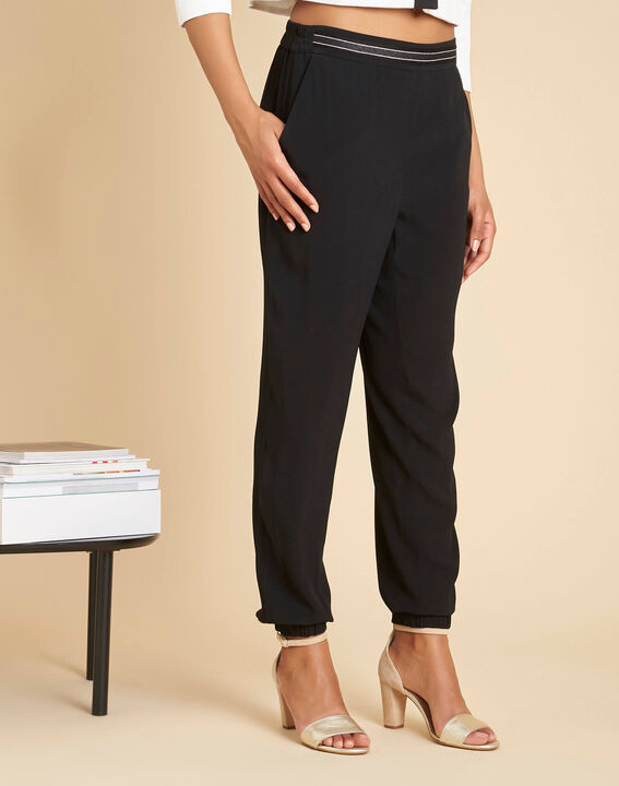 Pantalon noir cigarette Scoty (3) - 1-2-3