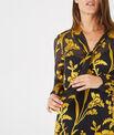 Robe or imprimé fleurs à col lavallière Arty PhotoZ | 1-2-3
