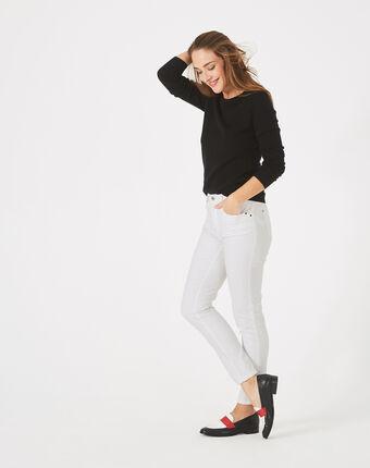 Pantalon 7/8ème blanc oliver blanc.