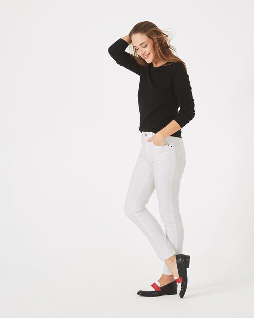 Pantalon 7/8ème blanc Oliver (1) - 1-2-3