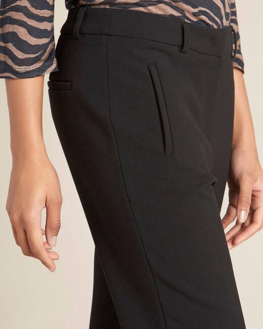 Pantalon de tailleur noir à zips Valero (1) - 1-2-3