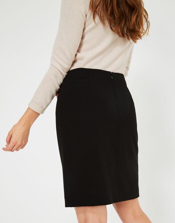 Folk black tailored skirt (3) - 1-2-3