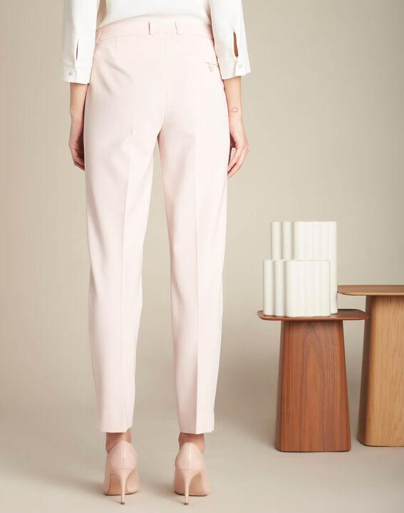 Pantalon de tailleur nude à pinces Valero (4) - 1-2-3