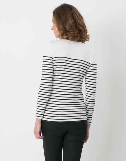 Naval striped navy blue T-shirt (3) - 1-2-3