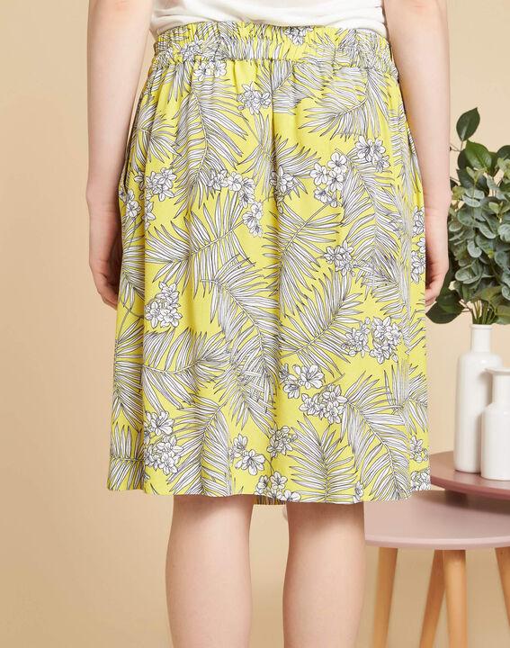 Lutin yellow printed skirt (4) - 1-2-3